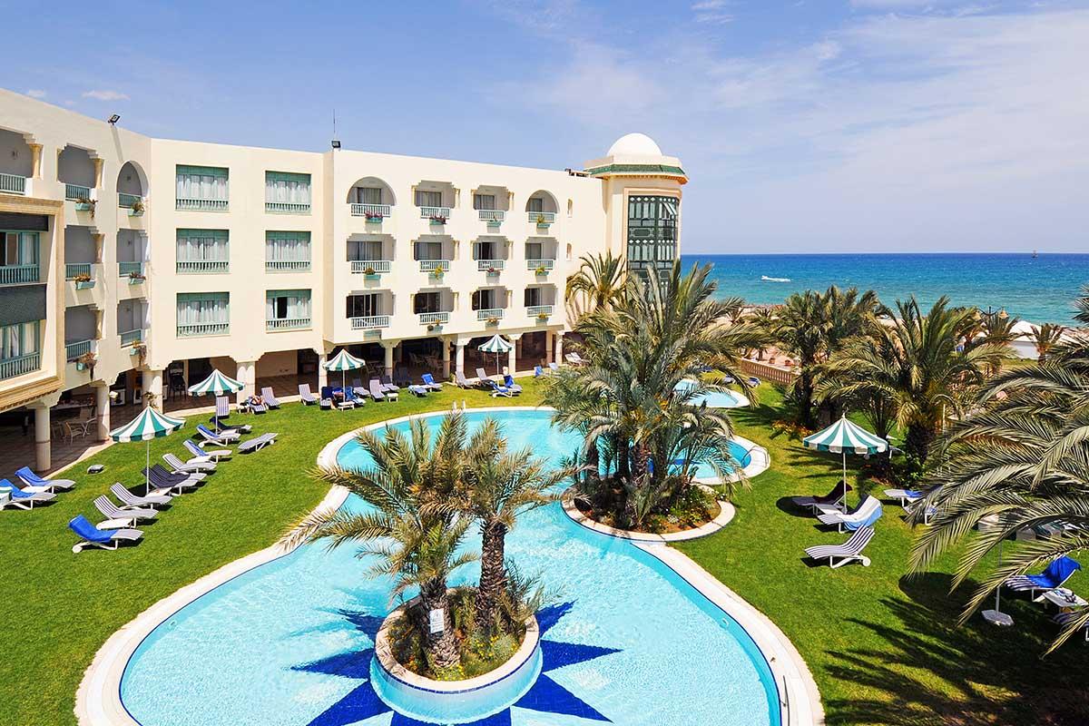 hotel-mehari-hamammet-piscine-exterieur